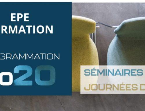 Tous nos séminaires et journées d'étude pour 2020 !!